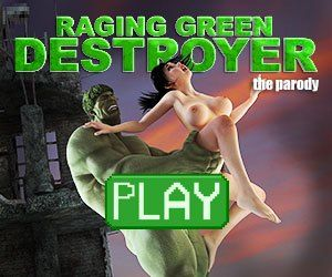 Raging Green Destroyer, the incredible hulk